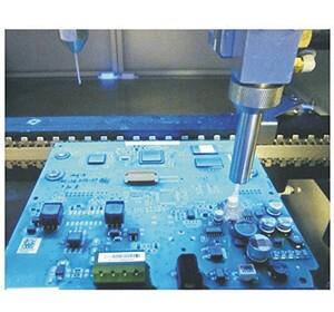 电路板,或者机载 设备中工作在高电压力下的印制导线及低气压下的印制